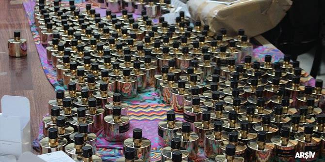 Ankara'da kaçak parfüm operasyonu