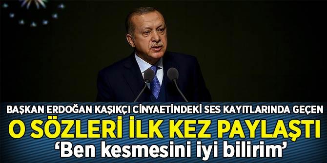 Son Dakika... Başkan Erdoğan Kaşıkçı cinayetindeki ses kayıtlarında yer alan o sözleri ilk kez paylaştı