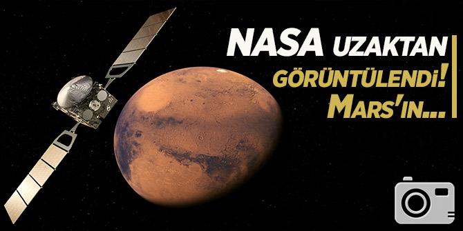 NASA uzaktan görüntülendi! Mars'ın...