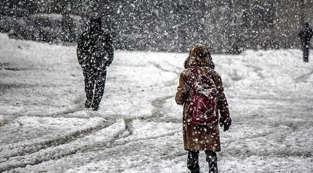 Edirne Keşan'da okullar kar nedeniyle yarın tatil