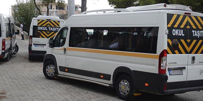 Emniyet o rakamları açıkladı! 599 okul servisi trafikten men edildi