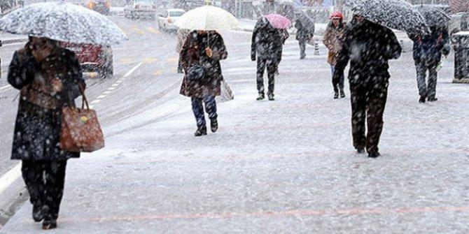 Meteorolojiden Doğu Anadolu için kar uyarısı! Dikkat