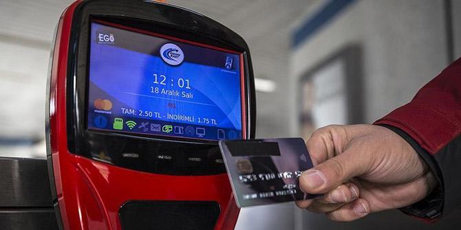 Ankara ulaşımında yeni uygulama! Temassız kart dönemi