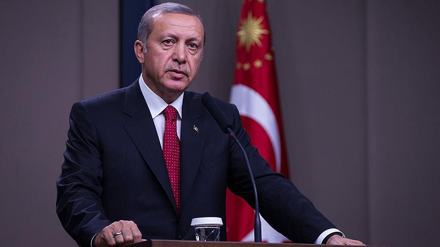'Erdoğan, Suriye'de DEAŞ'tan kalanları temizleyeceğini söyledi'