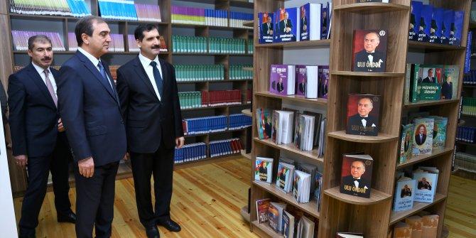 TİKA'nın da desteğiyle Azerbaycan'da Nuri Paşa Kütüphanesi açıldı
