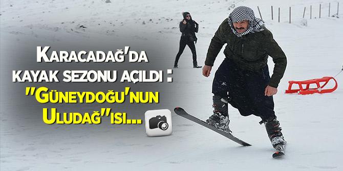 """Karacadağ'da kayak sezonu açıldı: """"Güneydoğu'nun Uludağ""""ısı..."""