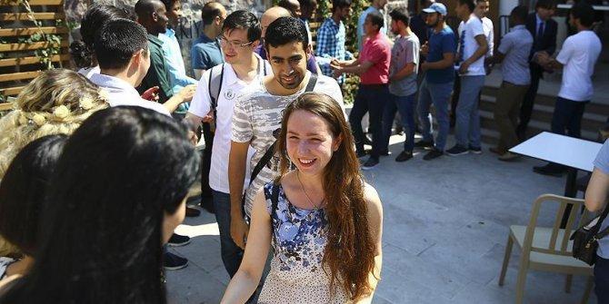O öğrenciler 2018'de Türkiye'yi tercih etti