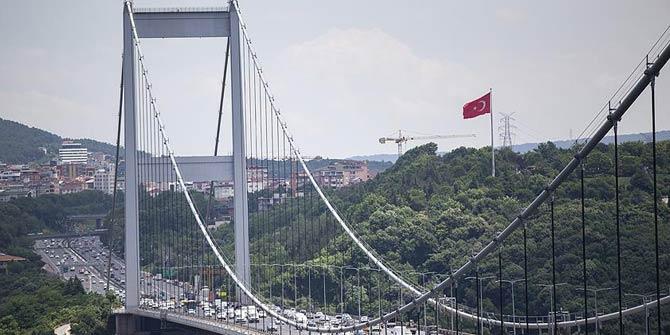 FSM  Köprüsü'ndeki bakım ve onarım!