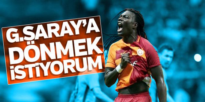 Bafetimbi Gomis'ten Galatasaraylıları heyecanlandıran açıklama