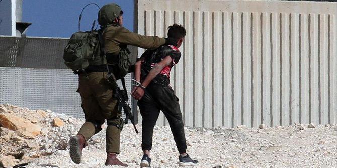 2018'de 312 Filistinliyi şehit etti!