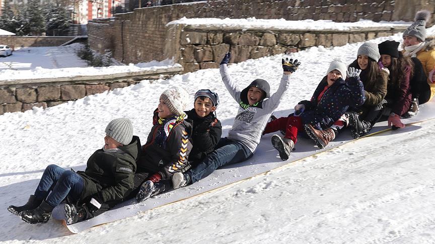 9 ilde eğitime kar ve buzlanma engeli