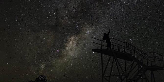 Bilim dünyası merakla izliyor! Galaksinin 1,5 milyar ışık yılı ötesinde keşfedildi