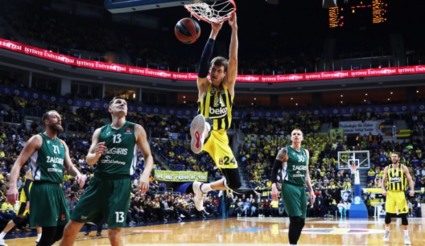 Fenerbahçe evinde Zalgiris'i devirdi