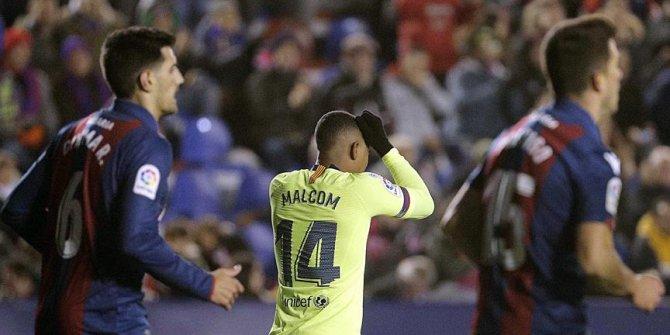 Barcelona Kral Kupası'nda  2-1 yenildi
