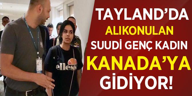 Tayland'da alıkonulan Suudi genç kadın Kanada'ya gidiyor