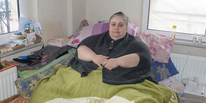 Kanseri yendi obeziteyi de yenmek istiyor