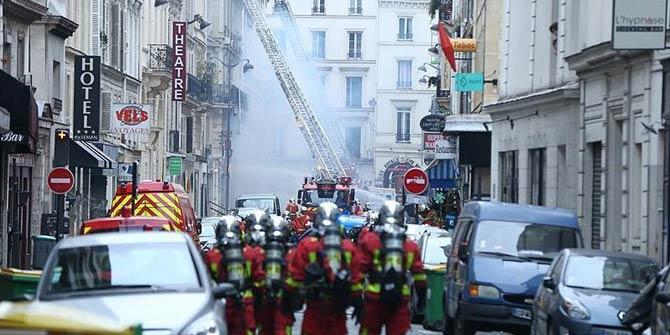 Son Dakika... Paris'te patlama! Bilanço çok ağır