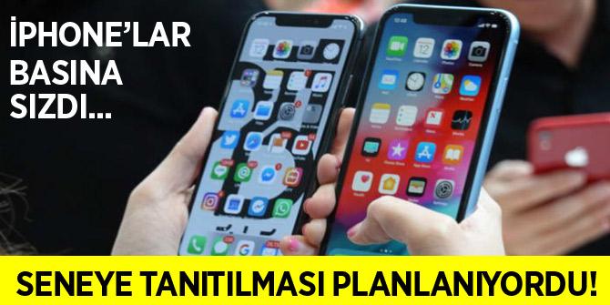 Seneye tanıtılması planlanan iPhone'lar basına sızdı!
