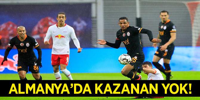 Galatasaray, Leipzig ile berabere kaldı!