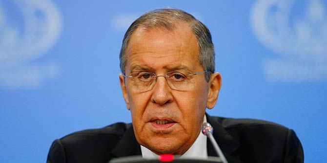 Son Dakika... Rusya Dışişleri Bakanı Lavrov'dan 'güvenli bölge' açıklaması