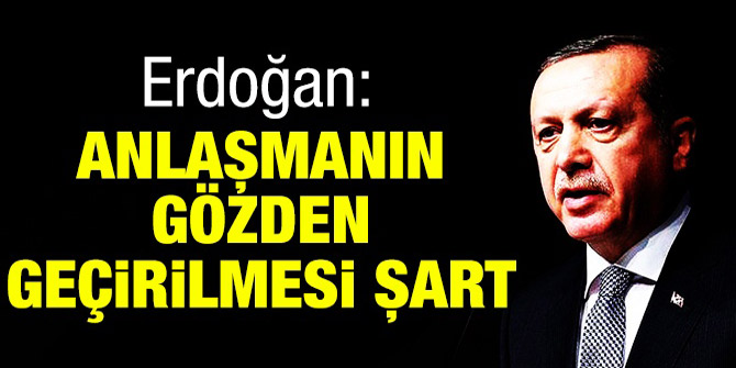 Cumhurbaşkanı Erdoğan: Dayton Anlaşması'nın gözden geçirilmesi şart