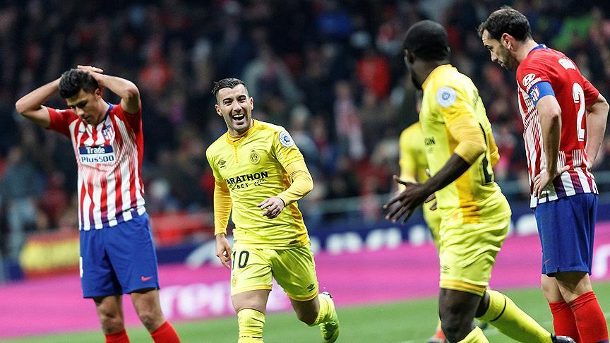Atletico Madrid Kral Kupası'na veda etti
