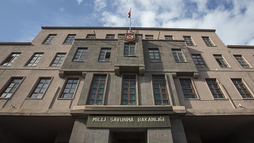 MSB: PKK/YPG'li teröristlerce yapılan taciz ateşlerine gerekli karşılık verildi