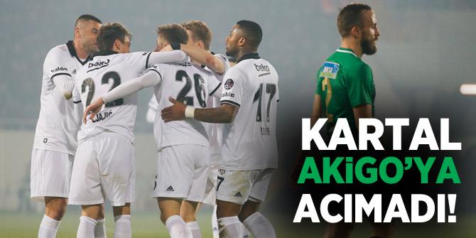 Akhisarspor Beşiktaş 1-3 maç özeti ve golleri izle