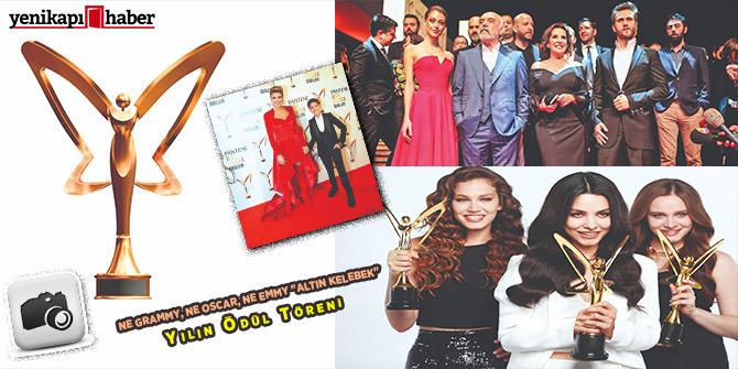 """Ne Grammy, Ne Oscar, Ne Emmy """"Altın Kelebek"""" Yılın Ödül Töreni!"""