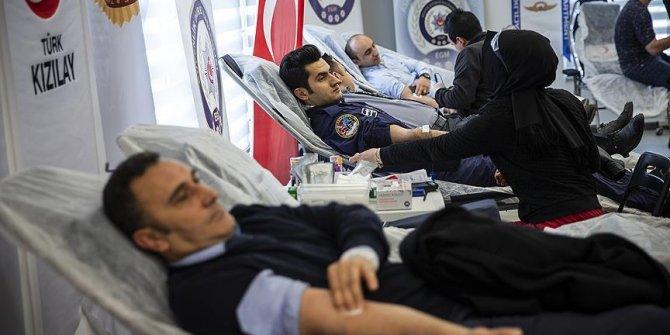 Emniyetten kan bağışına destek!