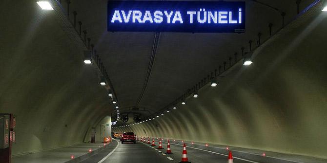 Avrasya Tüneli bir süre trafiğe kapatılacak
