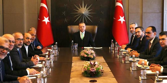 Başkan Erdoğan: Filistin davasına ve Filistin halkına sırtımızı dönmeyeceğiz
