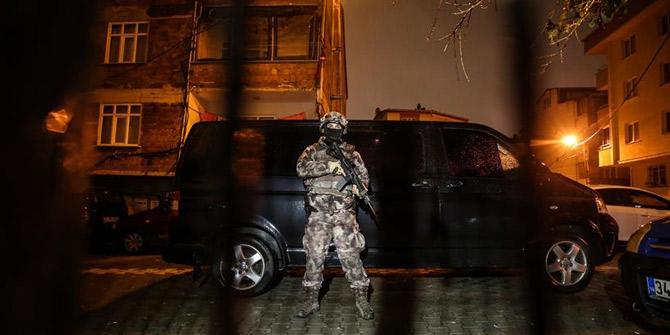 İstanbul'daki PKK/KCK operasyonunda 8 terörist yakalandı