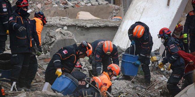 Kartal'da çöken binada hayatını kaybedenlerin sayısı 17 oldu