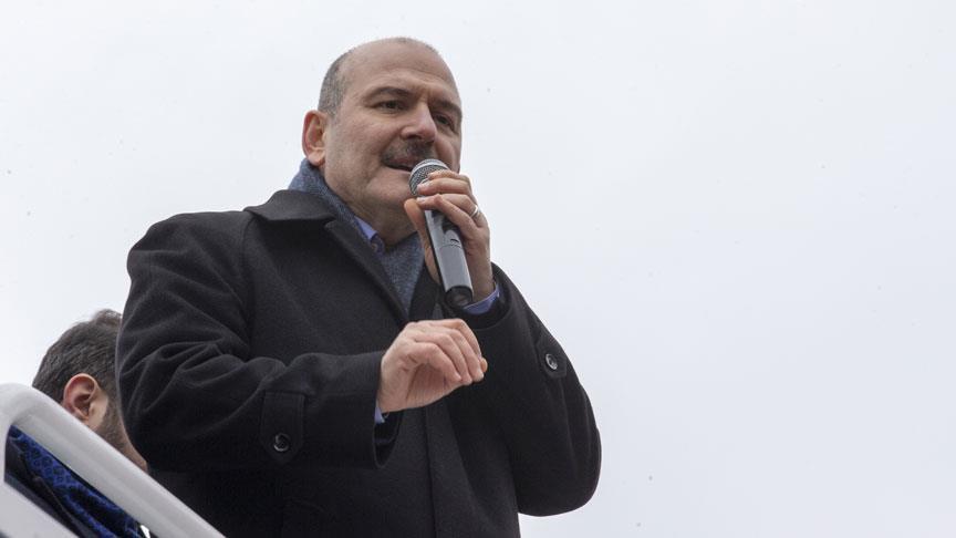 İçişleri Bakanı Soylu: PKK fare gibi kaçıyor