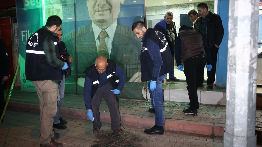 Seyhan belediye başkan adayının seçim bürosuna saldırı