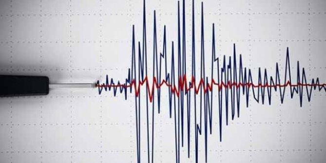 Girit Adası açıklarında 4 büyüklüğünde deprem