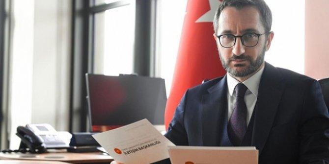 İletişim Başkanı  Altun, açıkladı: 2018 yılında 2 milyon 870 bin 879 başvuru....