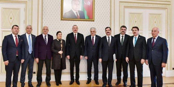 TBMM heyeti Azerbaycan'da