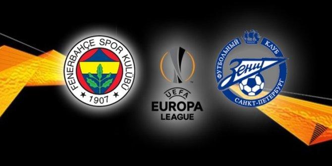 Zenit Fenerbahçe maçı ne zaman saat kaçta hangi kanalda? Taraftarlar için deplasman açıklaması