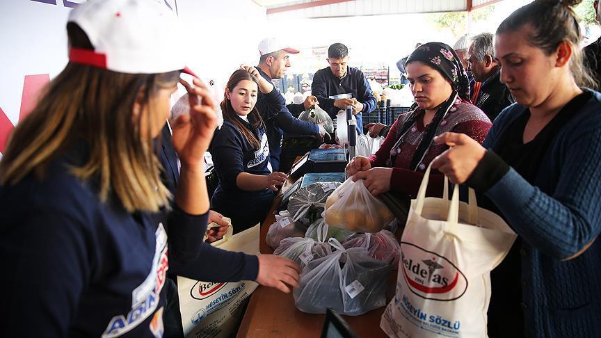 Adana'da ilk 'tanzim satış noktası' açıldı