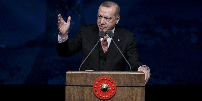 Cumhurbaşkanı Erdoğan: 2019-2023 dönemini kapsayan bir yaşlı vizyon belgesi hazırladık