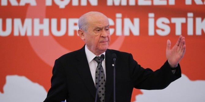 MHP Genel Başkanı Bahçeli'den Kocamaz'a davet