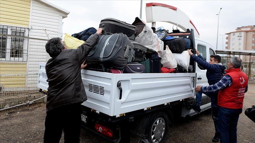Suriyelilerin ülkelerine dönüşü sürüyor