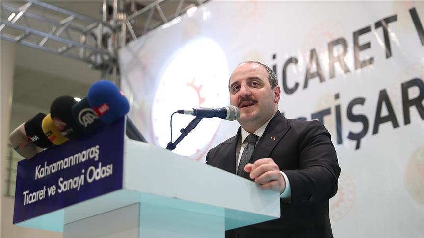 Sanayi ve Teknoloji Bakanı Varank: Üretimin ithal bağımlılığını azaltmayı hedefliyoruz