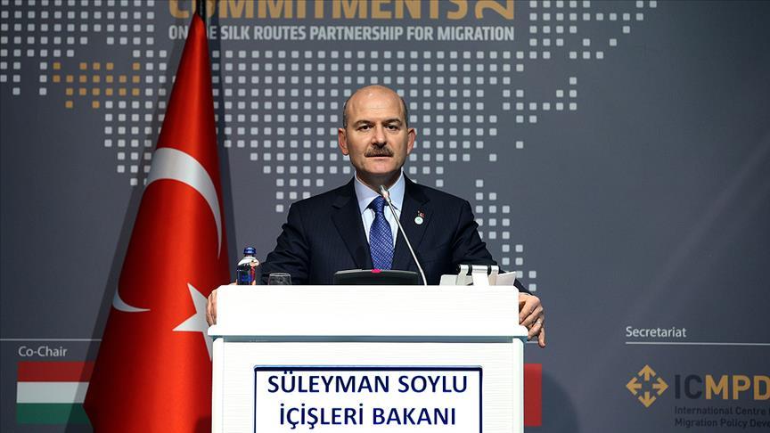 İçişleri Bakanı Soylu: Önemli olan dünyayı göç konusunda sorumluluğa çağırmak