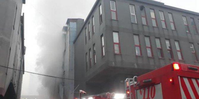 İstanbul, Bağcılar'da  yangın!