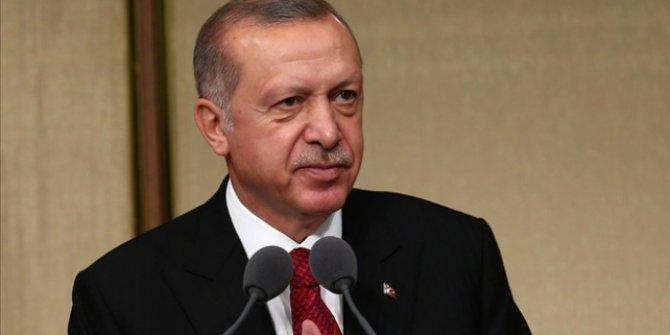 Başkan Erdoğan'dan Karpat için taziye mesajı