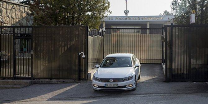 Afganistan Zi!rvesi, Rusya'nın Ankara Büyükelçiliği'nde başladı