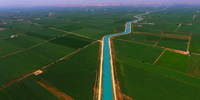 Su tasarrufu yapan çiftçiye devlet desteği!